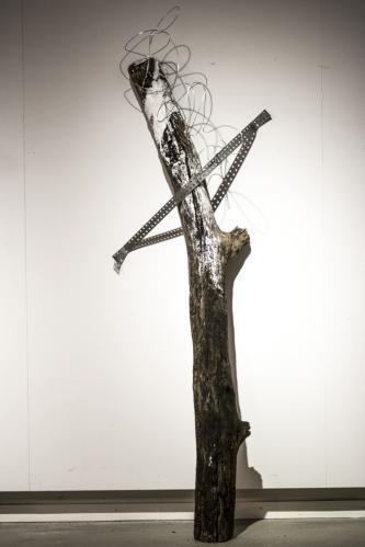 fixierte Skulptur